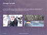 Falling Snow Background Presentation slide 12