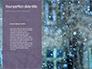 Falling Snow Background Presentation slide 9