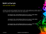 Beautiful Colorful Smoke on Black Background Presentation slide 7