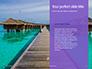 Beautiful Tropical Resort Bungalows Presentation slide 9