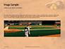 Softball Bat Helmet and Glove on Base Presentation slide 10