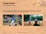 Softball Bat Helmet and Glove on Base Presentation slide 11
