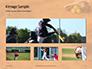 Softball Bat Helmet and Glove on Base Presentation slide 13