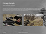 Two Men in Army Uniforms With Guns Presentation slide 11