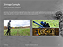 Two Men in Army Uniforms With Guns Presentation slide 12
