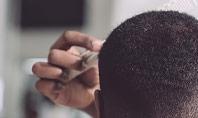 Barber Cutting in Barbershop Presentation Presentation Template