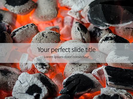 Hot Charcoal Presentation Presentation Template, Master Slide