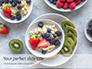 Homemade Oatmeal with Berries Presentation slide 1