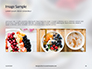 Homemade Oatmeal with Berries Presentation slide 10