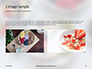 Homemade Oatmeal with Berries Presentation slide 11