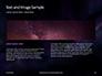 Stars and Nebula Clouds Presentation slide 14
