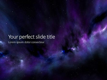 Stars and Nebula Clouds Presentation Presentation Template, Master Slide