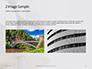 Worm's Eye View on White Concrete Building Presentation slide 11