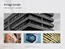 Worm's Eye View on White Concrete Building Presentation slide 13