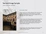 Worm's Eye View on White Concrete Building Presentation slide 15
