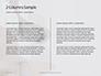Worm's Eye View on White Concrete Building Presentation slide 5