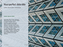 Worm's Eye View on White Concrete Building Presentation slide 9
