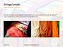 Bright Colored Silk Scarves Presentation slide 11