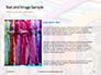 Bright Colored Silk Scarves Presentation slide 15