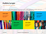 Bright Colored Silk Scarves Presentation slide 17
