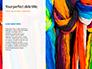 Bright Colored Silk Scarves Presentation slide 9