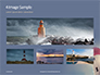 Worm`s Eye View of Lighthouse Presentation slide 13