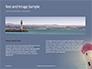 Worm`s Eye View of Lighthouse Presentation slide 14