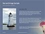 Worm`s Eye View of Lighthouse Presentation slide 15