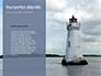Worm`s Eye View of Lighthouse Presentation slide 9