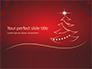 Christmas Greeting Card Background Presentation slide 1