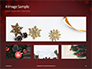 Christmas Greeting Card Background Presentation slide 13