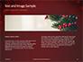 Christmas Greeting Card Background Presentation slide 14