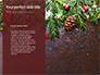 Christmas Greeting Card Background Presentation slide 9
