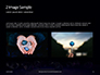 Group of Diamonds on Black Background Presentation slide 11
