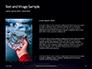 Group of Diamonds on Black Background Presentation slide 15