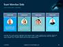 Scuba Diver Silhouette Against Sunburst Presentation slide 18