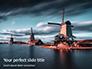 Three Windmills by the Lake Presentation slide 1