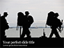 Marines Soldiers Silhouettes Presentation slide 1