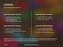 Assorted Color Alphabets Presentation slide 2