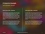Assorted Color Alphabets Presentation slide 5