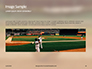 Baseball on Infield Chalk Line Presentation slide 10