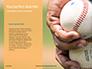 Baseball on Infield Chalk Line Presentation slide 9