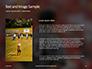 Closeup of The Back of American Football Referee Presentation slide 15