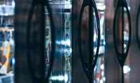 Supermarket Glass Refrigerator Presentation Presentation Template