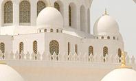 Abu Dhabi Sheikh Zayed White Mosque Presentation Presentation Template
