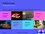 Blue and Purple Candles Presentation slide 17