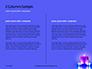 Blue and Purple Candles Presentation slide 5