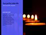 Blue and Purple Candles Presentation slide 9