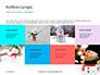Snowman Against Blurred Festive Bokeh Background Presentation slide 17