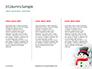 Snowman Against Blurred Festive Bokeh Background Presentation slide 6